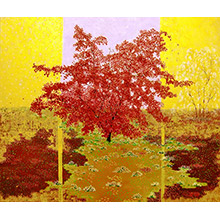 'Stages of Life (Autumn): The Purple Maple Tree (1)'