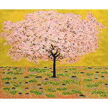 'Stages of Life (Spring): The Japanese Cherry Tree (1)'