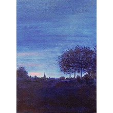 'Across the Heath, Dusk(1)'