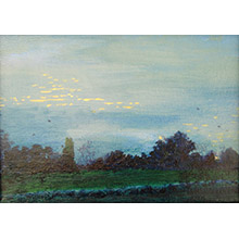 'Dusk, Across the Heath (3)'