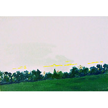 'Dusk, Across the Heath (7)'