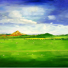 'Roseberry Topping at the Time of the Vernal Equinox'