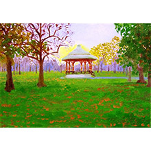 'The Band Stand, Autumnal Dusk (The Royal Park, Greenwich)'